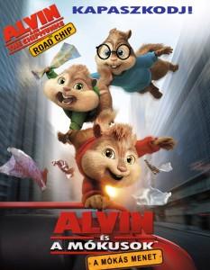Alvin és a mókusok – A mókás menet teljes mesefilm
