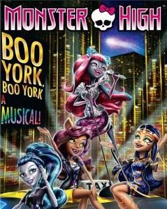 Monster High: Boo York, Boo York - A hajmeresztő Musical online mesefilm